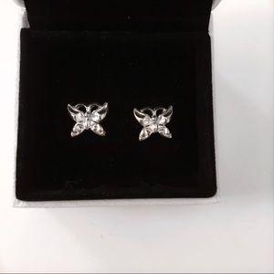 3/$30 ✨ Silver butterfly earrings 🦋
